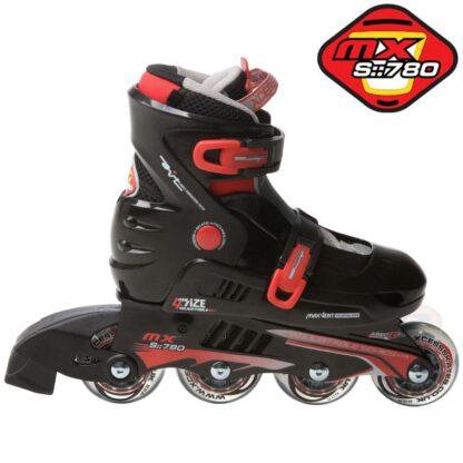 mx s780 roller skates xcess black